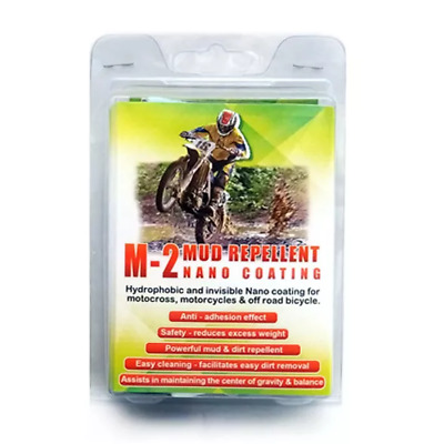 M-2 Mud Repellent Invisible Nano Coating For Off Road Motorcycles, Military & Ag