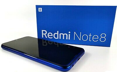 "Xiaomi Redmi Note 8 4GB RAM + 64GB (FACTORY UNLOCKED) 6.3"" Dual-SIM 48MP NEW!!!!"
