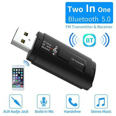Mini 3.5mm Bluetooth Audio Transmitter A2DP Stereo Dongle Adapter for TV G5D1