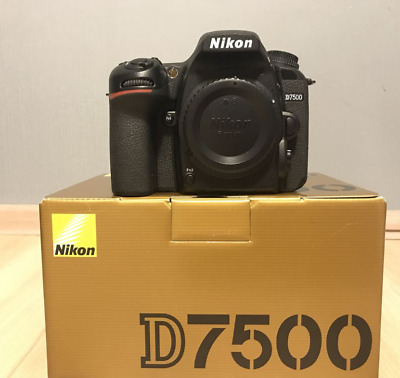 Nikon D7500 20.9MP DX-Format CMOS Digital SLR Camera