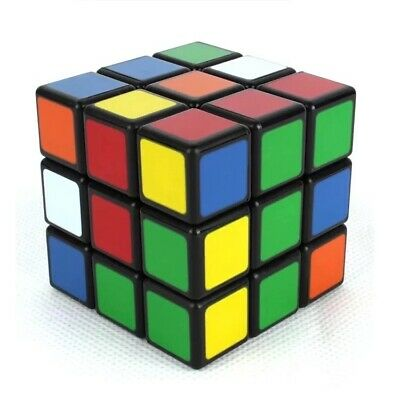 Kids Fun Rubiks Cube Toy Rubix Mind Game Classic Magic Rubic Puzzle XMas Gift