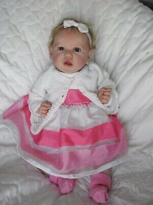 Tickled Pink Nursery Reborn Baby Saskia