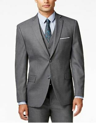 $360 Alfani Men's Stretch Performance Slim-Fit Suit Jacket Grey Brand New W/ Tag