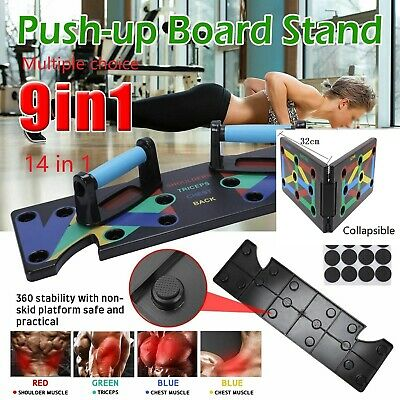 Push-up Board Stand Fitness Workout Gym Chest Muscle Training Exercise NCP