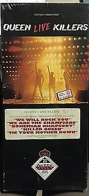 Queen ‎– Live Killers - 2 CD Longbox USA 720616106629  - SEALED MINT NEW