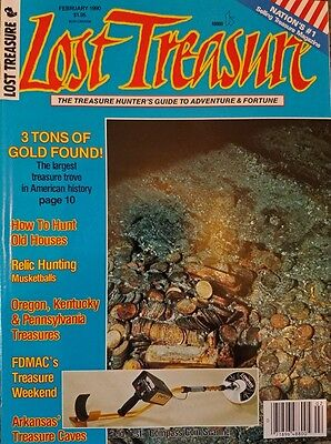 SS Central America, Tommy Thompson, Lost Treasure Magazine, February, 1990, New!
