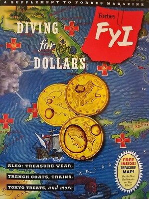 SS Central America, Tommy Thompson, Diving for Dollars, Forbes Magazine, 1991