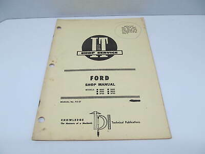 FORD TW10,TW20,TW30,8000,8600,8700,9000,9600,9700 WORKSHOP SERVICE REPAIR MANUAL