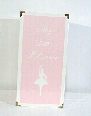 My Little Ballerinas Pink Doll Carrying Case With Glass Mirror and Closet inside