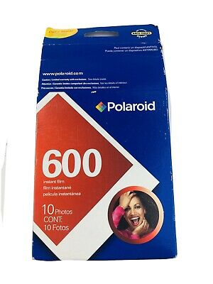 Polaroid 600 Instant Film Pack of 10 Photos Expired 2009 NIP Old Stock