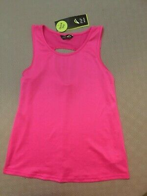 Girls Sports Top From F&F Active  Age 10-11 Years  Bnwt