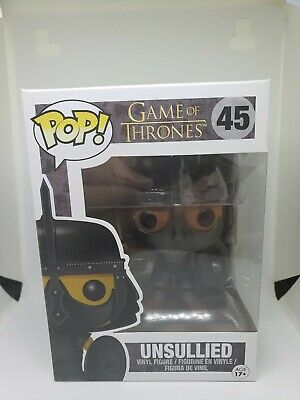 Funko POP Retired/Vaulted The Unsullied Soldier Game of Thrones Vinyl Figure #45