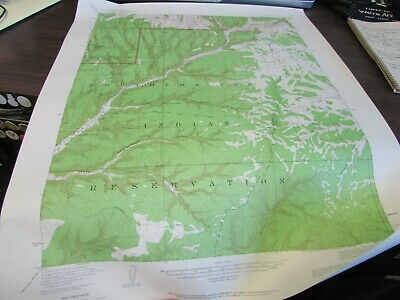 Soda Canyon Colorado - Topographic Map U.s. Geological Survey 1964