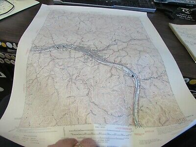 Charleston West Virginia - Topographic Map U.s. Geological Survey 1964