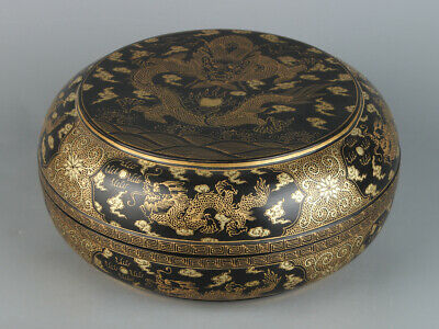 Chinese Exquisite Handmade lacquerware Box