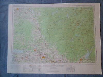 US Geological Survey Topography Map1962-Quadrangle Utica, New York