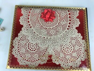 Set Of 3 Doilies In Original Packaging - Orem - Box Measures 30 X 25Cm