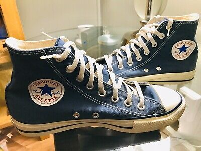Vintage Converse All Star Chuck Taylor Blue Sz 6.5 Made in USA Great  Condition
