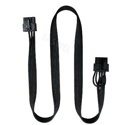 PCIe 8Pin to 6+2pin Power supply Cable for Corsair CX850M CX750M CX600M  Modular
