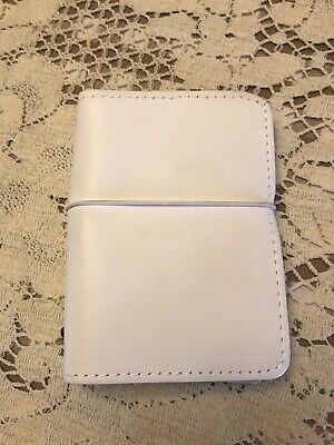 Foxy Fix Leather Sugar Coconut Single Couture Passport Size Travelers Notebook