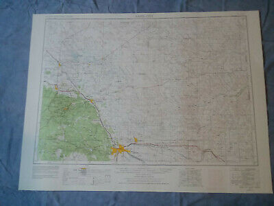 US Geological Survey Topography Map1953-Quadrangle Rapid City, South Dakota