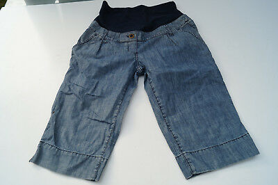 H&m Mama Maternity Jeans Blue short Jeans Shorts SIZE S