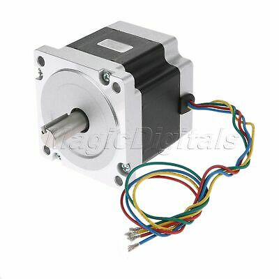 NEMA34 1.8° 2Phase 4Wire 78mm 4.6N.m/647.9oz.in Bipolar Stepper Motor 5.5A 2.53V