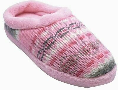 Ladies Womens Low Wedge Slip On Fur Mules Warm Cosy Furry Slippers Comfort Shoes