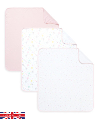 Mothercare Jersey Blankets Confetti Party Pack of 3 *DAMAGED BOX*
