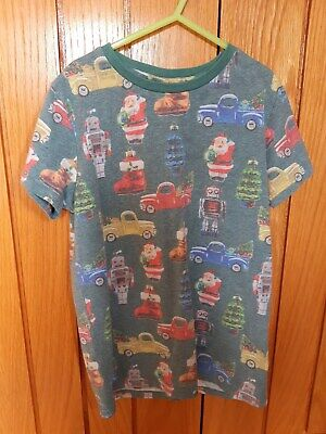 Boys Next Christmas T shirt age 10 years