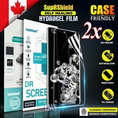 For Samsung Galaxy S20+ S20 Plus Ultra Hydrogel Full Cover Film Screen Protector