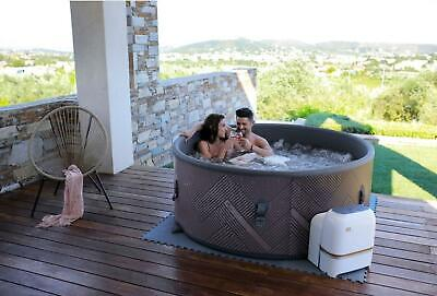 Mspa Mono 6/4 Bathers Inflatable Hot Tub Spa Jacuzzi Cover Home Holiday Family