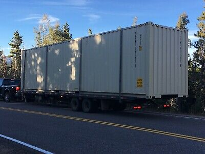 40FT High Cube - NEW ONE TRIP DOUBLE DOOR SHIPPING CONTAINER - Conifer, Colorado