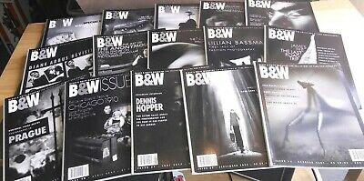 Lot 15 various B&W black & and white magazine fine photography #16-54 nudes zoo