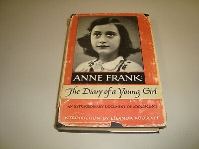 Vintage 1952 ANNE FRANK: THE DIARY OF A YOUNG GIRL First Edition Hardcover