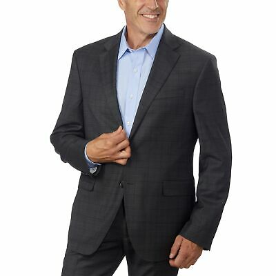 Kenneth Cole NY Men's Wool Suit Jacket, Gray