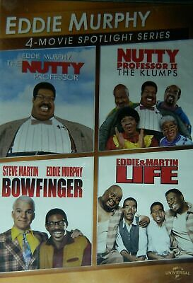 New Eddie Murphy 4 movie spotlight bowfinger life nutty professor i ii 2 klumps