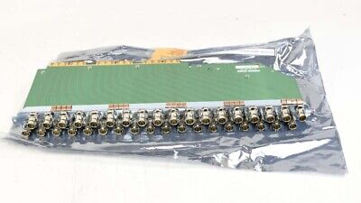 EVERTZ EQX-BNC-RH Backplane panel with BNC connectors for IP/OP router cards #2