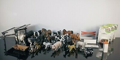 Lot of Schleich Horses Animals Farm Lot Horse Family Set Safari ltd Rare