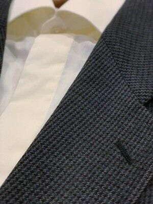 MANI Giorgio Armani Vintage Suit Jacket Sport Coat 42L 100% Wool Made in Italy