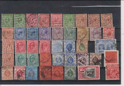"18??-19??-British Colonies & Territories-""George V"" -Lot 43 Stamps-Old Coll.-1"