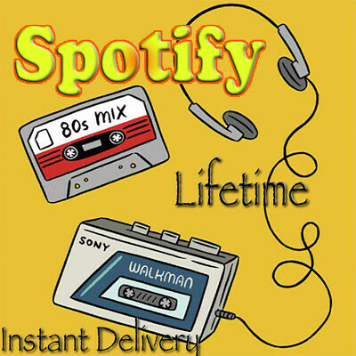 Spotify Premium Lifetime | Instant Delivery | New Or Old Existing Account