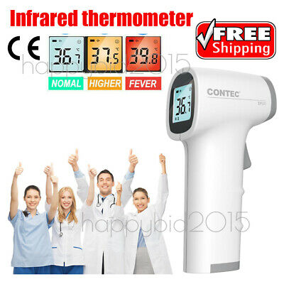Infrared Forehead Thermometer non touch Digital LCD Termometro For Fever Body