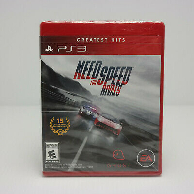 Need for Speed Rivals Sony PlayStation 3, 2013 EA  Factory Sealed!!   SEE VIDEOS
