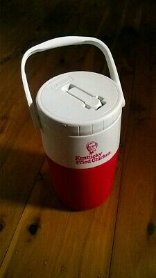 RARE AS NEW Collectable Retro KFC Cooler Flask by Coleman