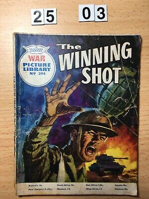"""Fleetway War Picture Library Comic # 394 from 1967. """"The Winnings Shot"""""""