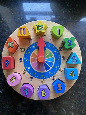 Childrens Tell The Time Clock Smyths Toys