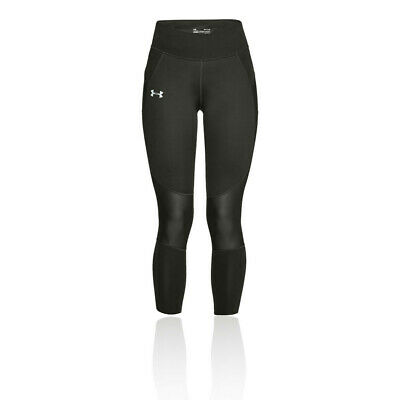 Under Armour Womens Speedpocket Cropped Running Tights Bottoms Pants Trousers