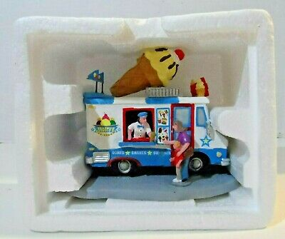 Lemax Frosty's Ice Cream Truck American Village Carnival