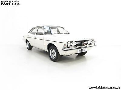 An Iconic Top of the Range Ford Cortina Mk3 2000 GXL with 62,518 Miles